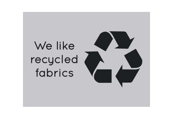 We Like Recycled Fabrics